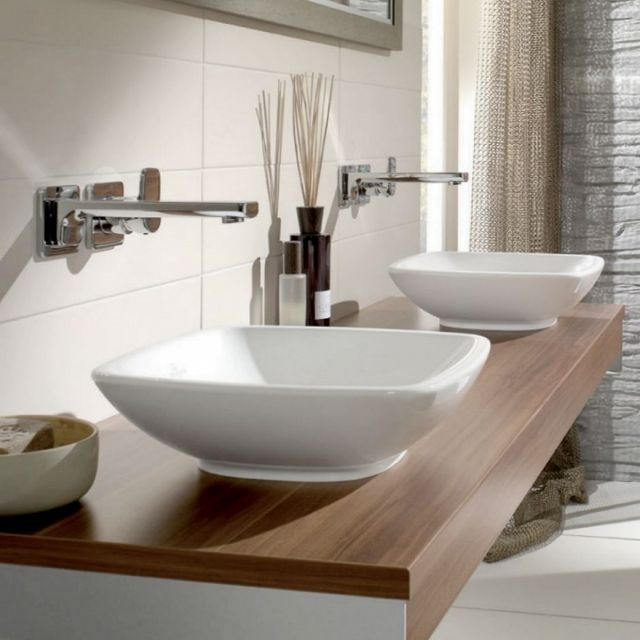 V&B Loop & Friends Square Surface Mounted Washbasin