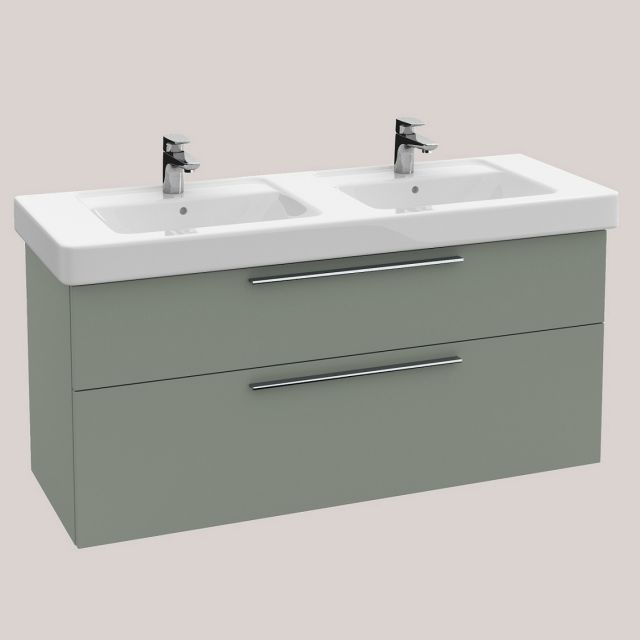 Villeroy And Boch Soho 2 (Was Subway) Double Vanity Washbasin Unit