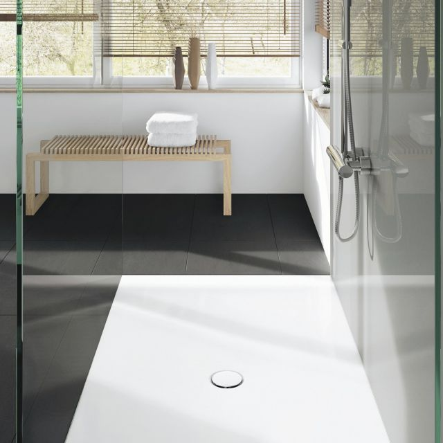 Kaldewei Scona Square Steel Shower Tray