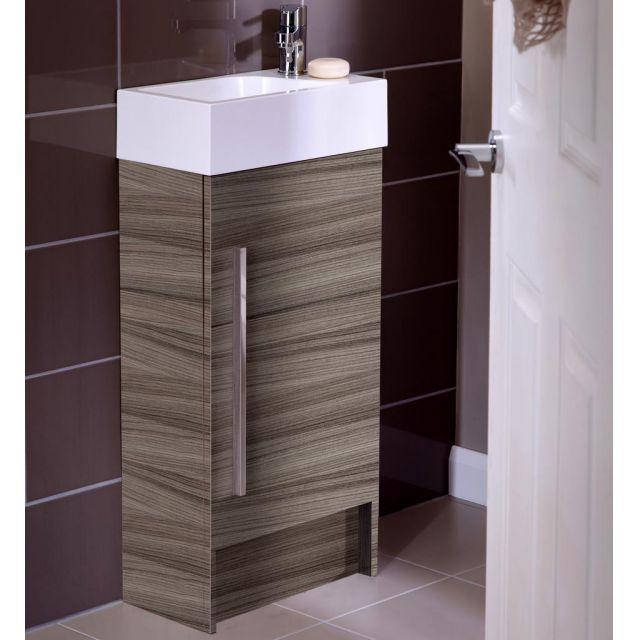 Noble Modular 40cm Floorstanding Cloakroom Unit