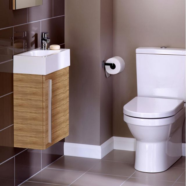 Noble Modular 40cm Wall Hung Cloakroom Unit