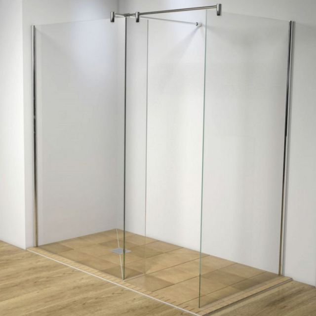 Kudos Ultimate2 Fixed Corner Wetroom Panels