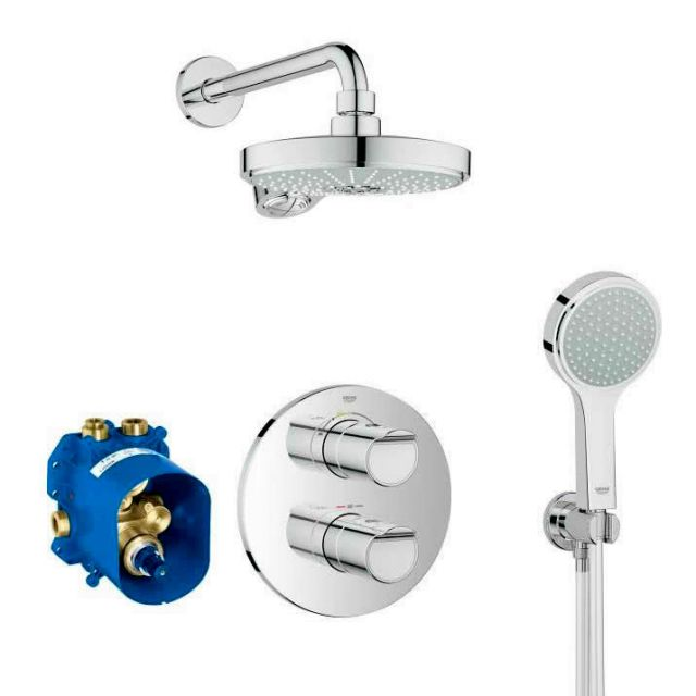 Grohe Grohtherm 2000 Thermostatic Perfect Shower Set 190 - 34283001