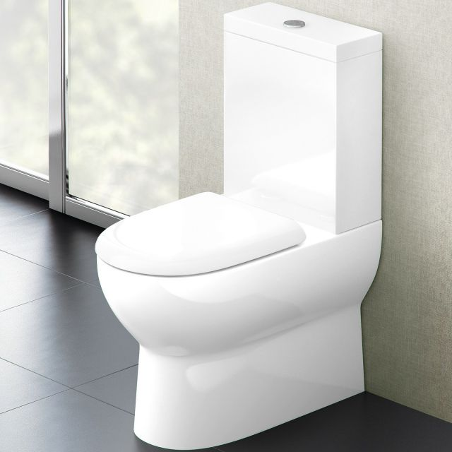 Britton Compact Close Coupled Toilet