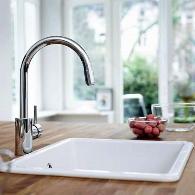 Grohe Concetto Kitchen Mixer with Pull Out Spray