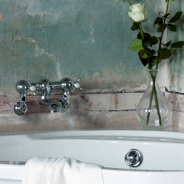 Burlington Claremont Regent Wall Mounted Bath Filler