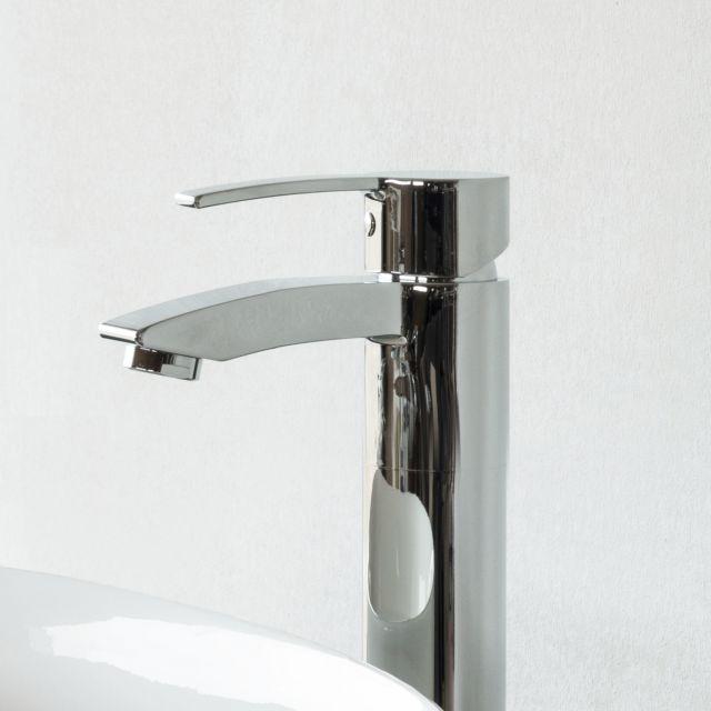 Britton Sapphire Floor Mounted Single Lever Bath Filler