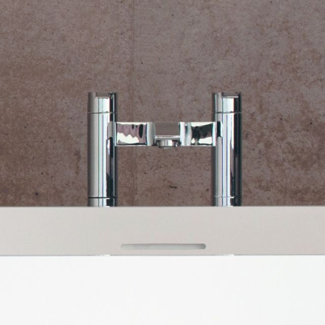 Britton Sapphire Floor Mounted Bath Filler