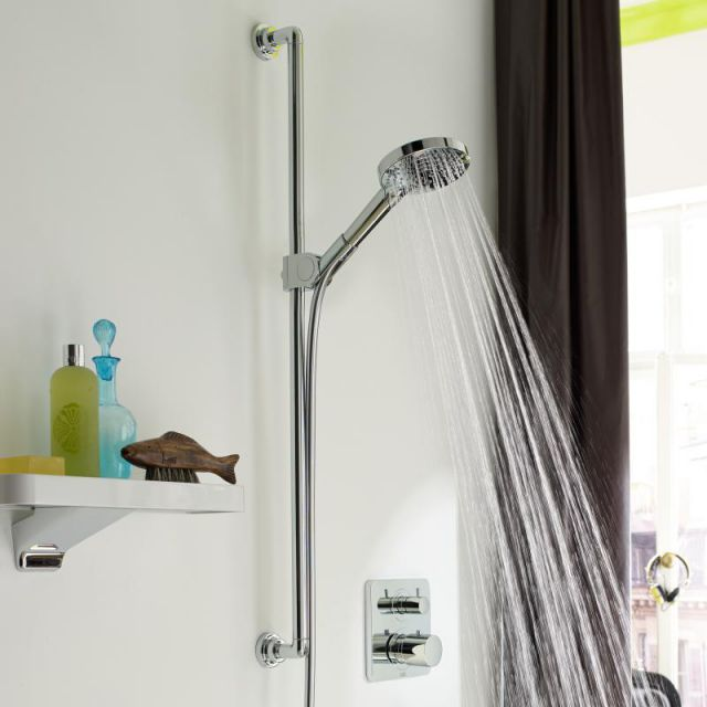 AXOR Citterio Shower Set with Raindance Select S 120 3jet Hand Shower