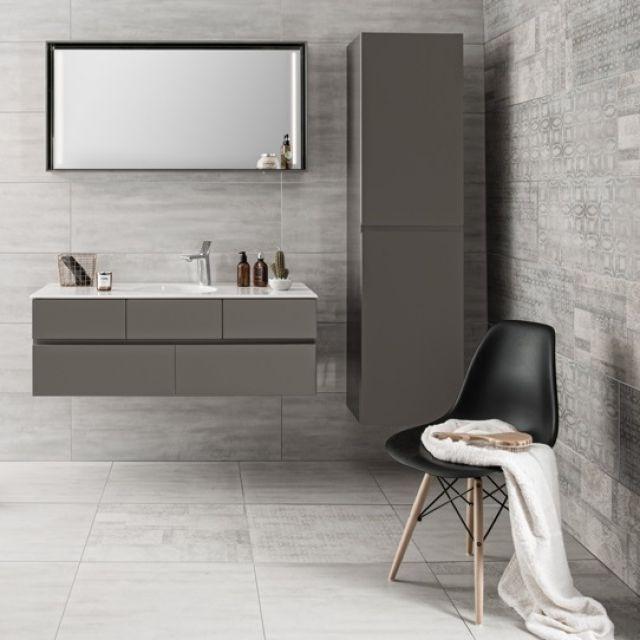 Vitra Memoria Tall Bathroom Cupboard