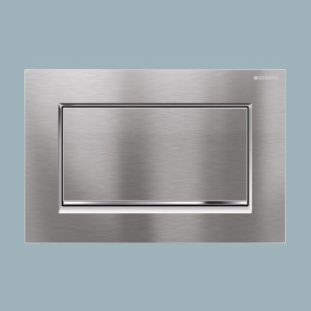Geberit Sigma30 'Stop & Go' Single Flush Plate
