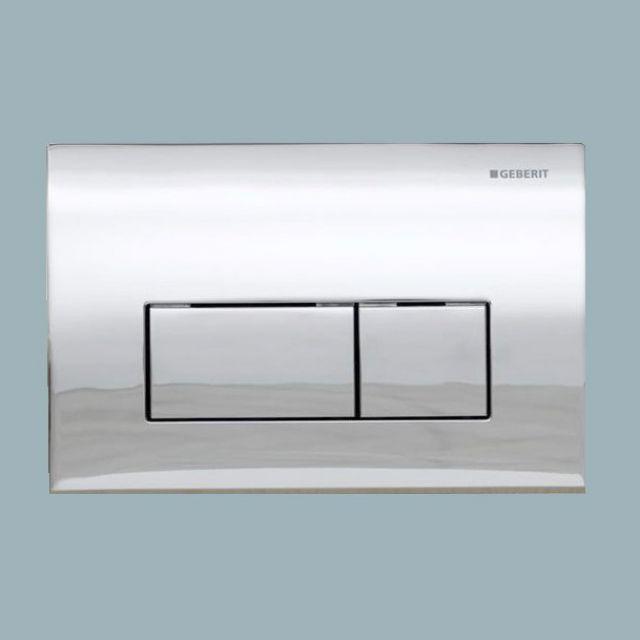 Geberit Kappa50 Dual Flush Plate - 115260211