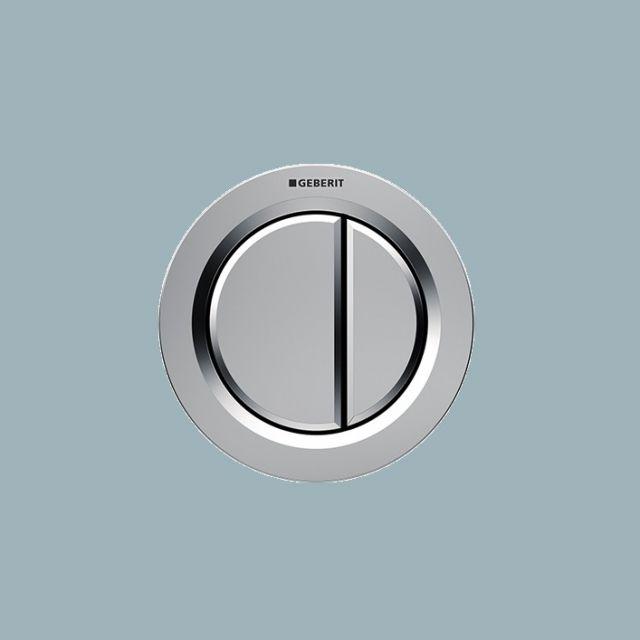 Geberit Dual Flush Buttons, Pneumatic Type 01