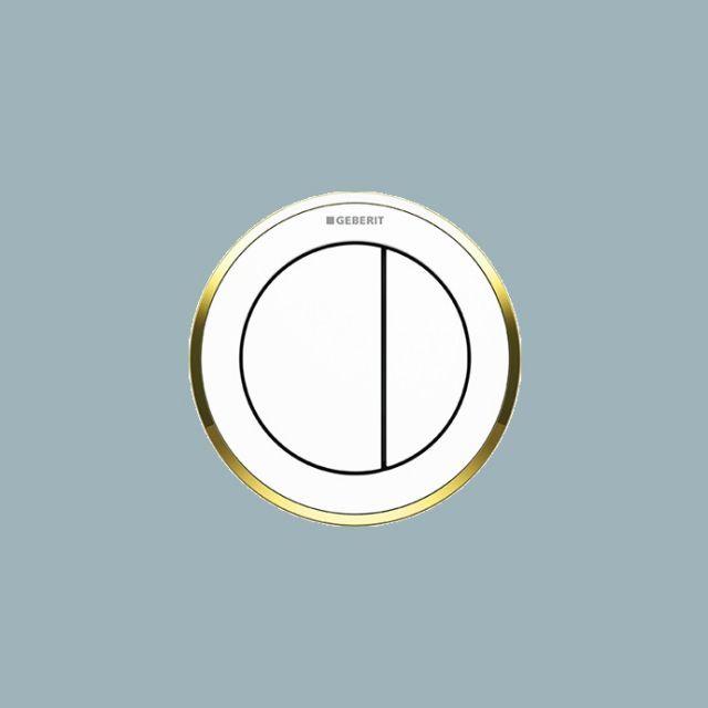 Geberit Dual Flush Buttons, Pneumatic Type 10
