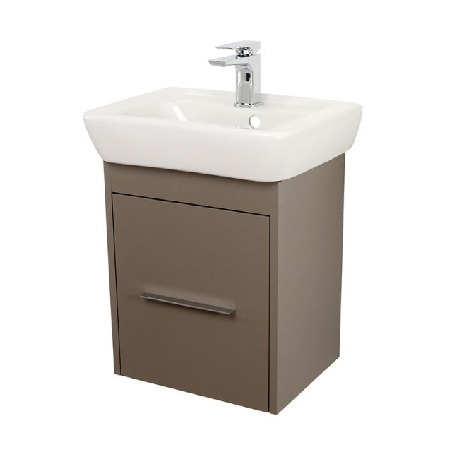 Abacus Simple Wall-hung Cloakroom Vanity Unit
