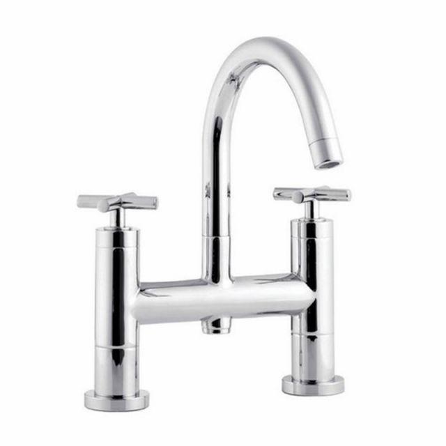 Abacus XS Deck-mounted Bath Filler - TBTS-35-3202
