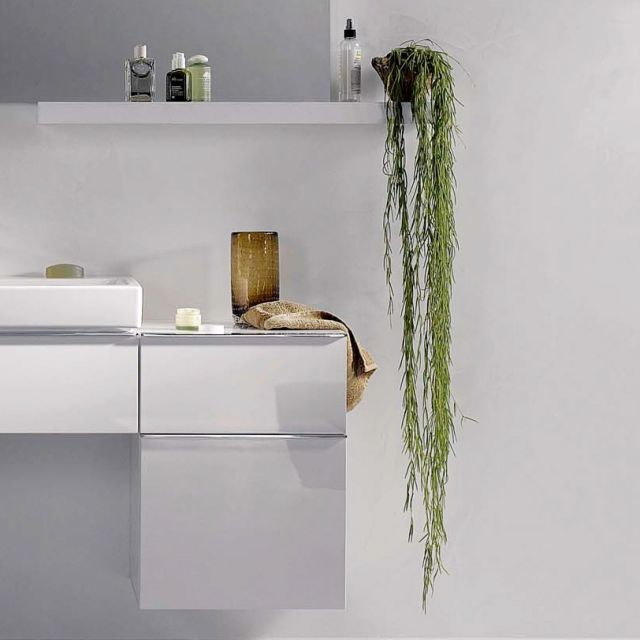 Geberit iCon 45cm Side Cabinet with Two Drawers
