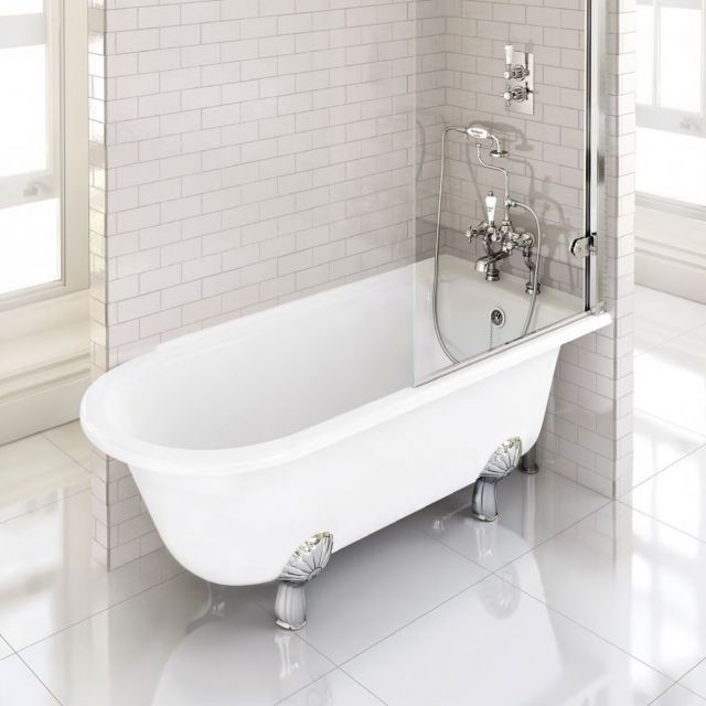 Burlington Hampton Traditional Shower Bath