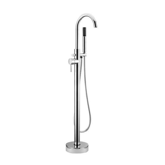 Abacus Iso Chrome Freestanding Bath Shower Mixer Tap