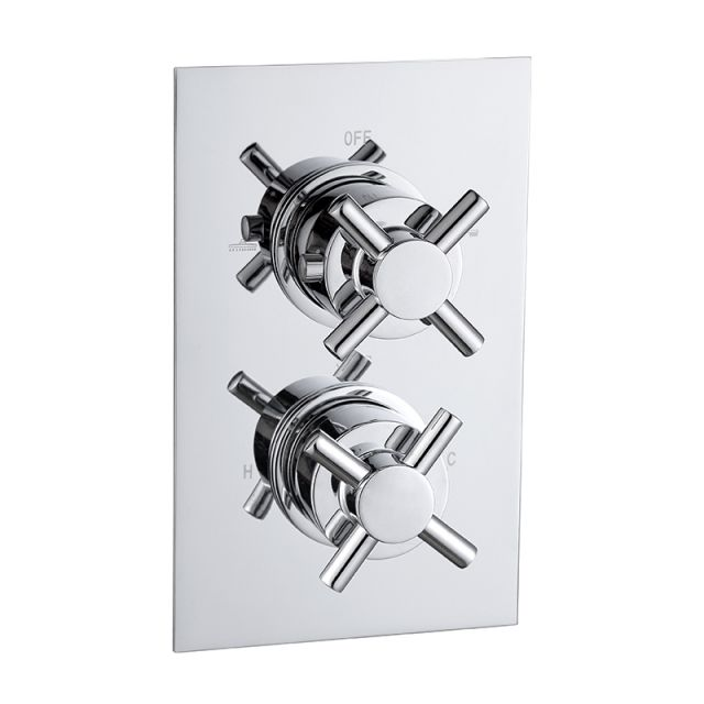 Abacus Emotion Crosshead Thermostatic Shower Valves