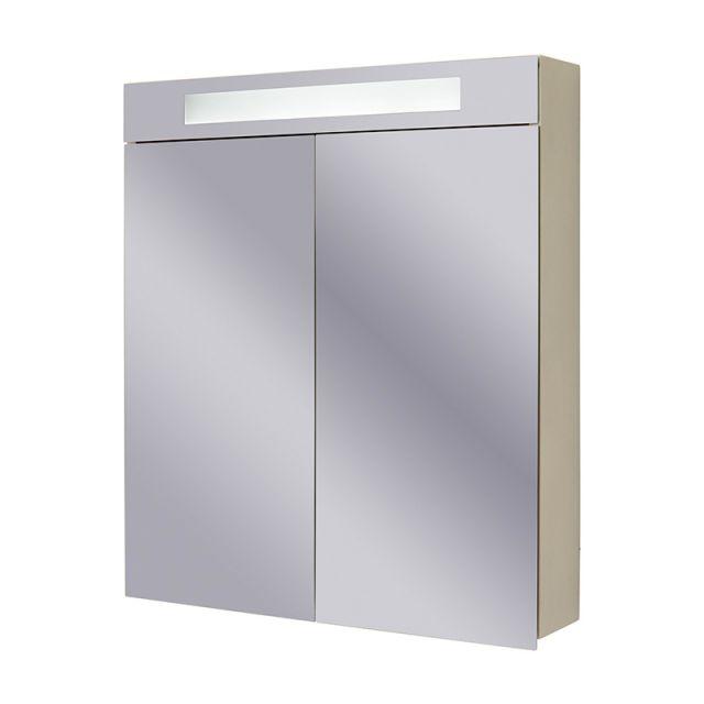 Abacus Pure Twin Door Mirror Cabinet 60