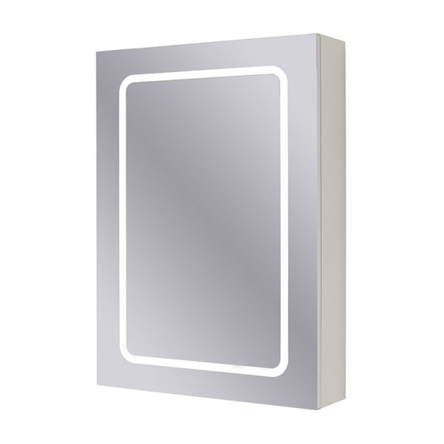 Abacus D-Style Single Door Mirror Cabinet