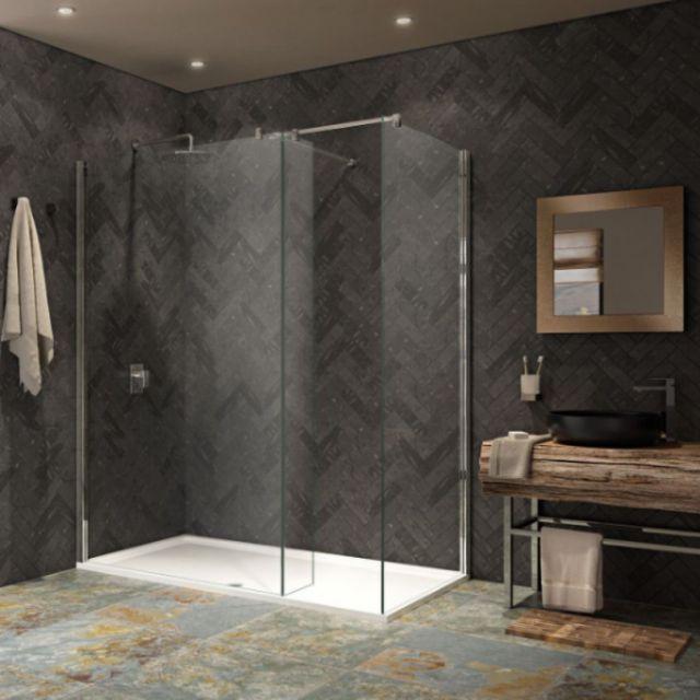 Walk In Showers Walk In Shower Enclosures Trays Uk Bathrooms
