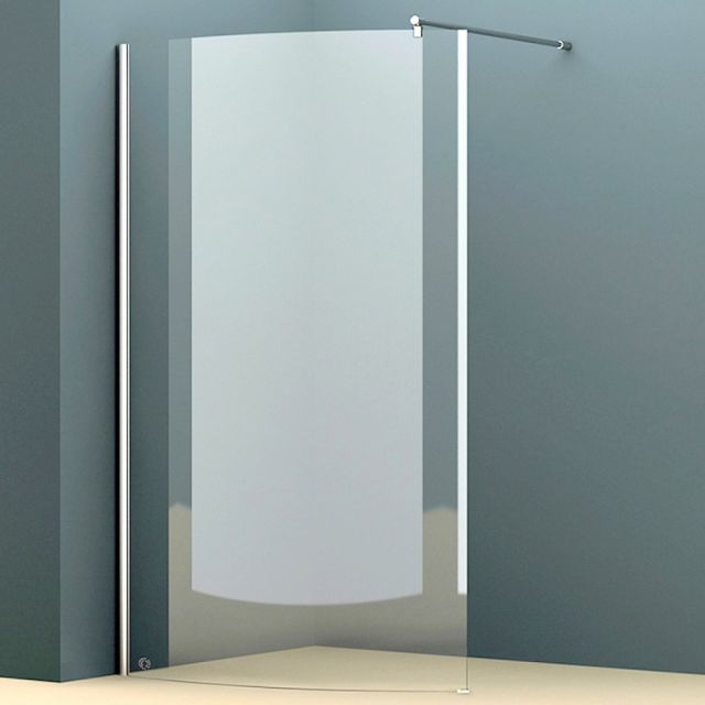 Abacus E Series Walk In Curved Shower Screen