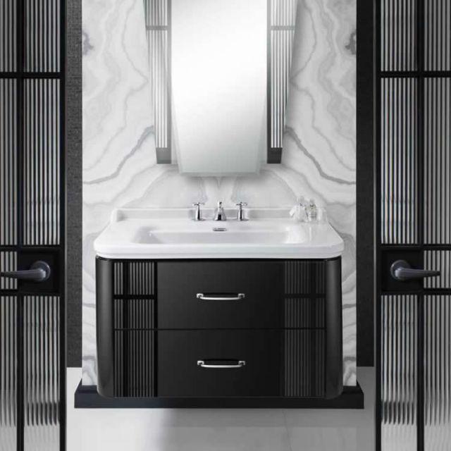 Bauhaus Waldorf Vanity Unit, Wall Hung
