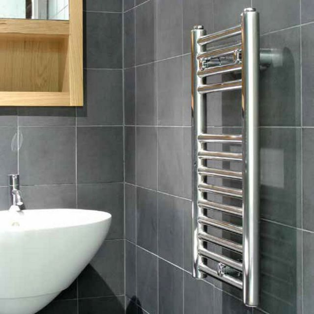 Abacus Micro Linea S Stainless Steel Towel Rail