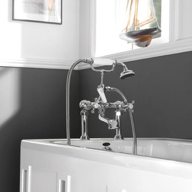 Imperial Victorian Bath Shower Mixer Tap