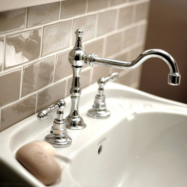 Imperial  Pre 3 hole Basin Mixer Tap