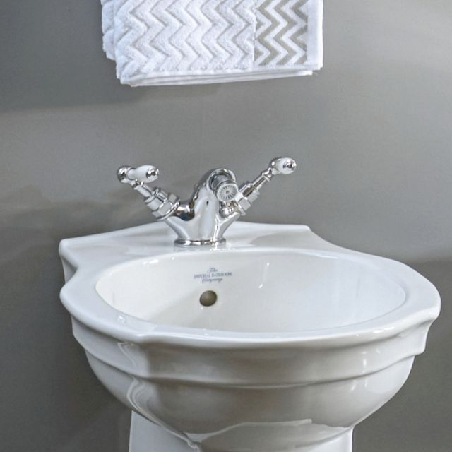 Imperial Crown Lever Bidet Mixer Tap