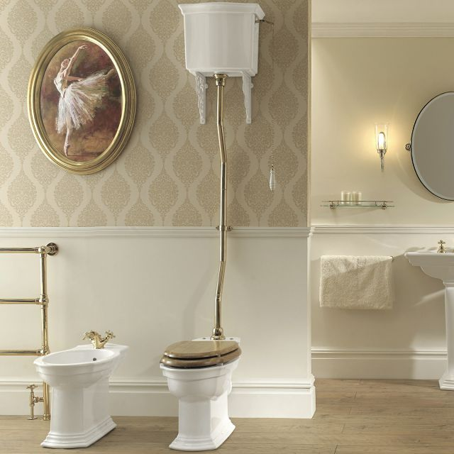Imperial Westminster High Level Toilet Uk Bathrooms