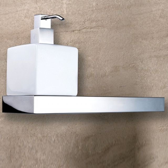 Abacus Pure Stainless Steel Soap Dispenser