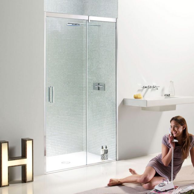 Matki EauZone Plus Sliding Shower Door for Recess