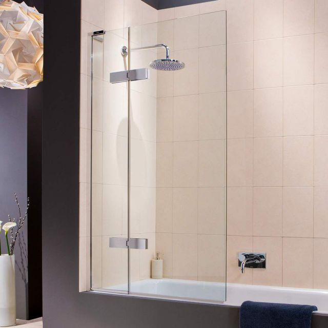 Matki EauZone Plus Outward Opening Two Panel Bath Screen