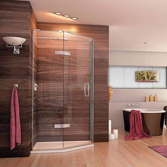 Matki EauZone Plus Quintesse Shower Enclosure with Hinged Door