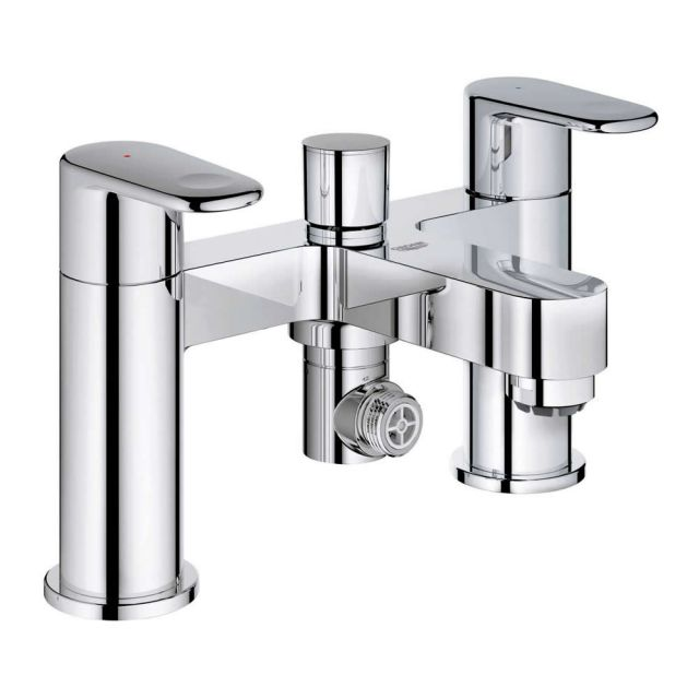 Grohe Europlus Two Handled Bath Shower Mixer Tap - 25133002