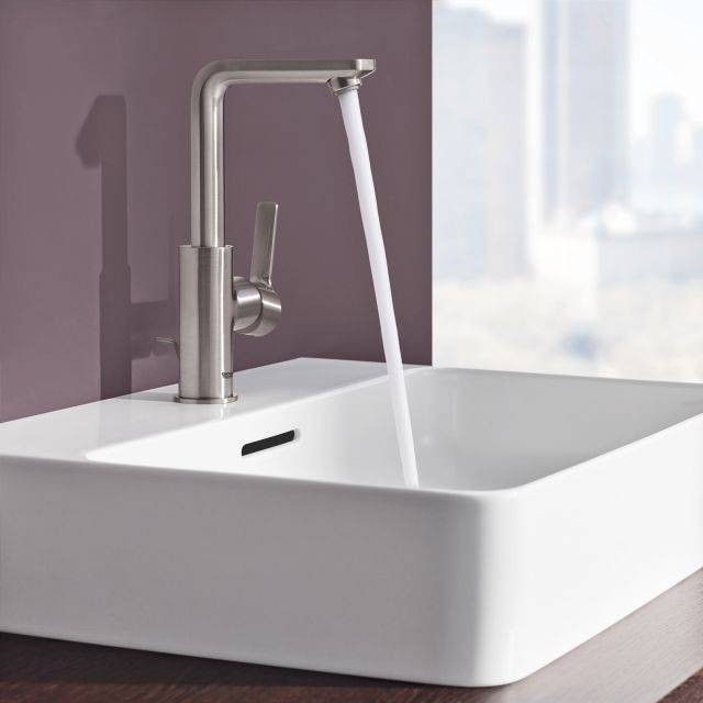 Grohe Lineare Single Side Lever Basin Mixer Tap L-Size - 23296001