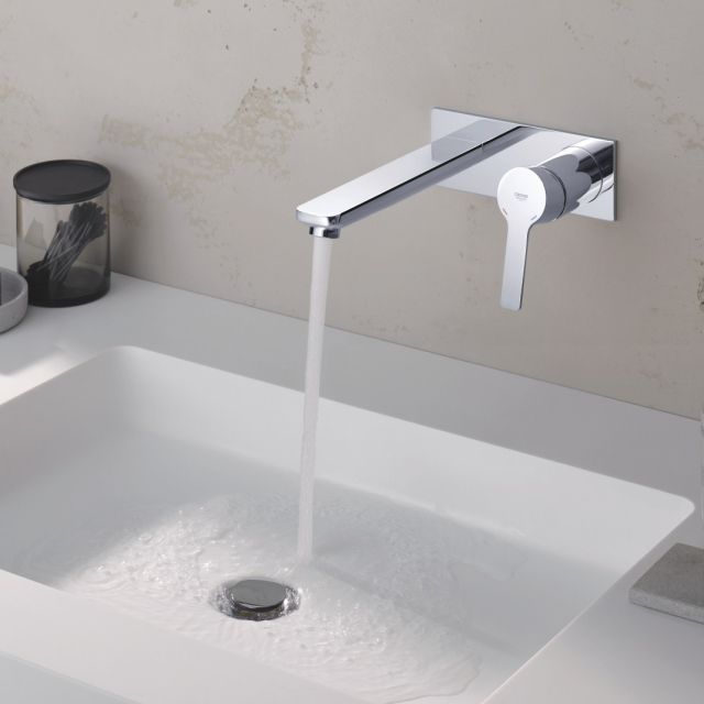 Grohe Lineare 2-hole Basin Mixer M-Size