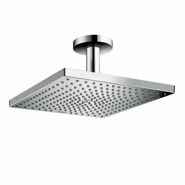 Hansgrohe Raindance E 300 Air 1jet Overhead Shower with Ceiling Connector