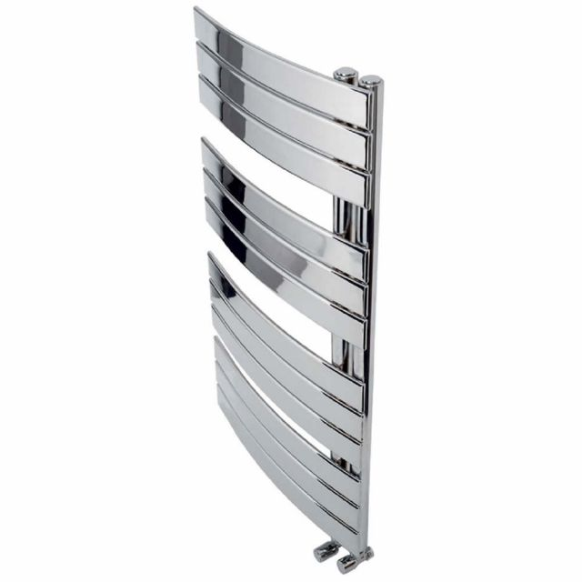 Apollo Palermo Curved Offset Towel Warmer