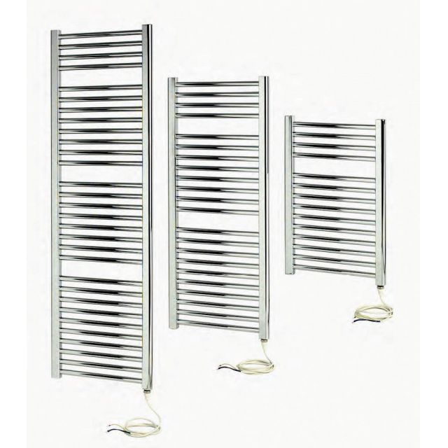 Apollo Napoli Sealed Electric Curved Towel Radiator