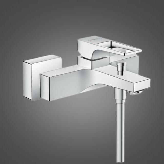 Hansgrohe Metropol Bath Shower Mixer Tap with Loop Handle