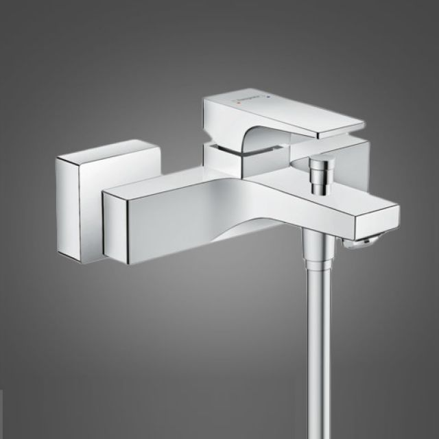 Hansgrohe Metropol Bath Shower Mixer Tap with Lever Handle