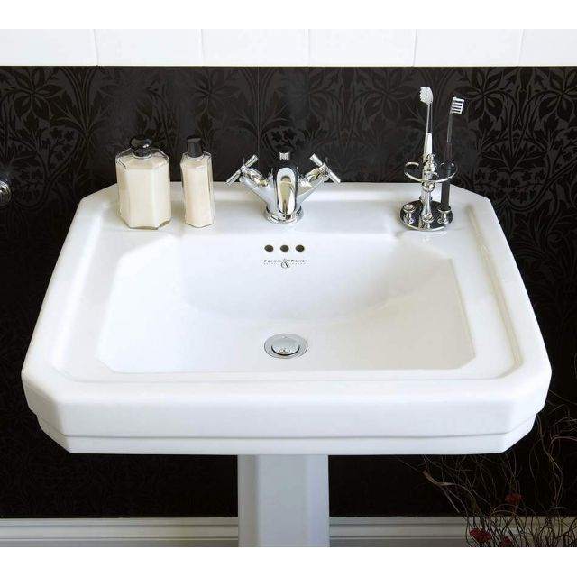 Perrin and Rowe Deco Bathroom Basin