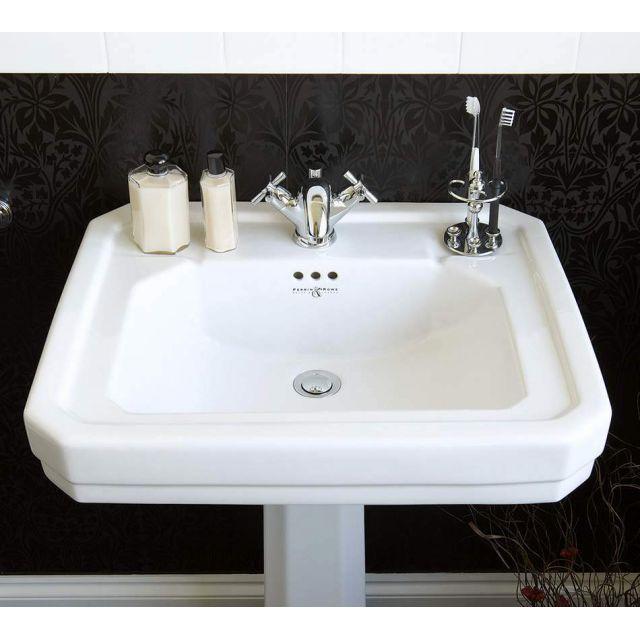 Perrin and Rowe Deco Bathroom Basin