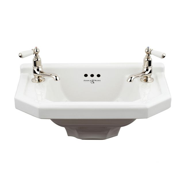 Perrin and Rowe Deco Cloakroom Basin