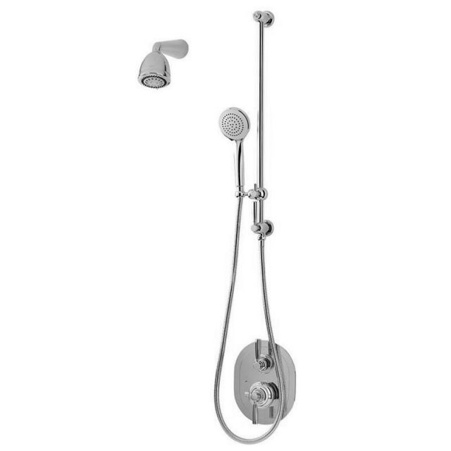 Perrin and Rowe Contemporary Concealed Shower Set Four